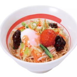 台湾野菜まぜめん ピリ辛(1.5玉) 半熟煮卵入