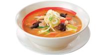 味噌味のたっぷり野菜のロカボスープ