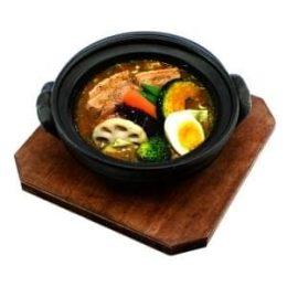 豚角煮カリー (オリジナルスープ)